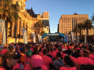 Starting Point - Parade - Cape Town