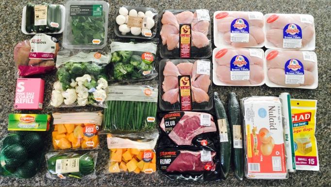 Sunday Shopping Meal Prep